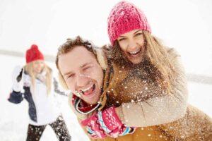 plezier op wintersport