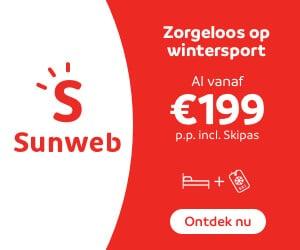 sunweb winter lastminutes banner