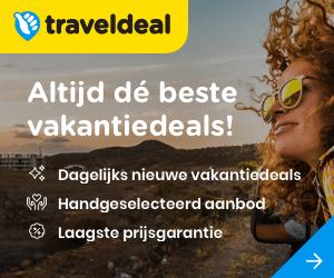 traveldeals aanbiedingen banner