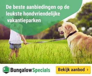 bungalowspecials honden vakantieparken