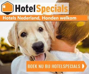 Hotelspecials Nederland honden welkom banner