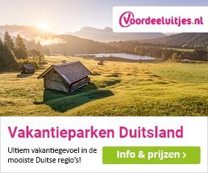 voordeeluitjes vakantieparken duitsland banner