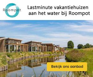 roompot watervilla lastminutes banner