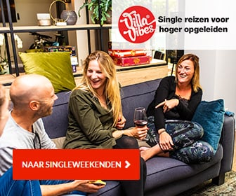 Single weekend villa vibes banner
