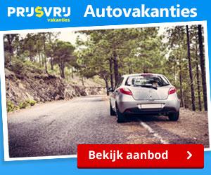 Prijsvrij autovakantie banner