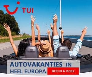 TUI autovakantie banner